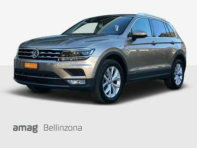 gebraucht VW Tiguan 2.0 TDI SCR Highline 4Motion