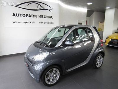 gebraucht Smart ForTwo Coupé pearlgrey mhd softouch