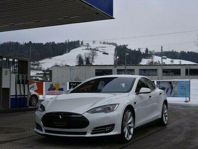gebraucht Tesla Model S 85 D Performance *CH-Fahrzeug**Vollleder**ACC*