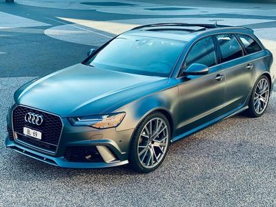 gebraucht Audi RS6 S6 / RS6Performance 605PS Quattro 1. Hand