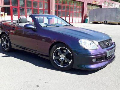 gebraucht Mercedes SLK230 kompressor Cabrio mit Effekt lack tuning