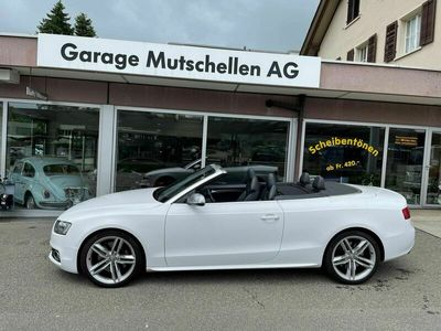 gebraucht Audi RS5 S5 /Cabrio 3.0 TFSI quattro S-tronic 1.Hand alle Service bei off. 82% unter NP