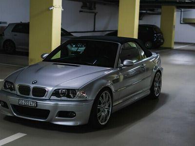 gebraucht BMW M3 Cabriolet 3er e46 Wertanlage 104000km