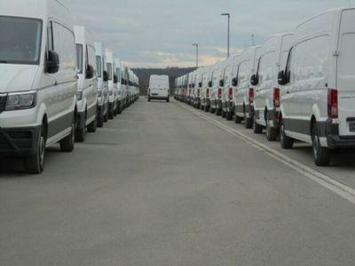 gebraucht VW Crafter Kasten 35 lang Hochdach FWD Navi Klima