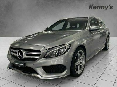 gebraucht Mercedes C250 C-KlasseBlueTec AMG Line 4Matic Kombi