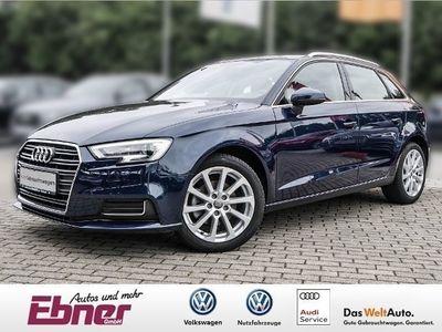 gebraucht Audi A3 Sportback DESIGN 2.0TDI EU6 AHK NAVI XENON GR