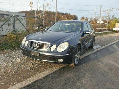 gebraucht Mercedes E500 E-Klasse E500 Ab MFK E-KlasseMFK