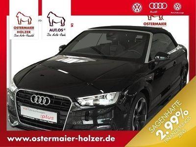gebraucht Audi A3 Cabriolet S-LINE 2.0TDI S-TRONIC+ExP LEDER NA