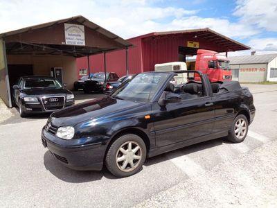 gebraucht VW Golf Cabriolet 1,6 Jg 1.11.1999 Alufelgen läuft fährt gut