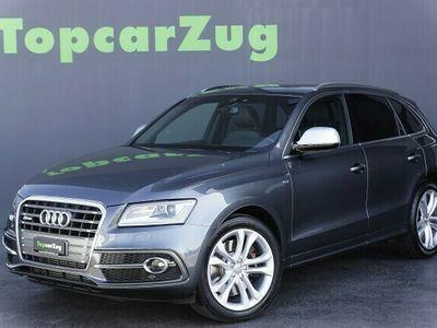 gebraucht Audi SQ5 3.0 BiTDI Quattro ** CH-Fahrzeug-Gratis Service **