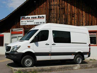 gebraucht Mercedes Sprinter 316 CDI Lang 4x4 Automat