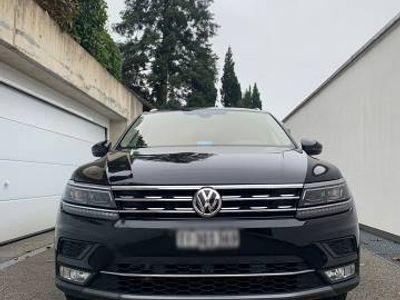 gebraucht VW Tiguan HIGHLINE 2.0 TDI 4MOTION