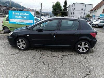 gebraucht Peugeot 307 2.0 HDI Black&Silver Edition
