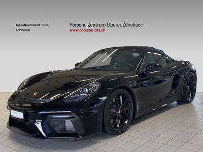 gebraucht Porsche Boxster Spyder 4.0
