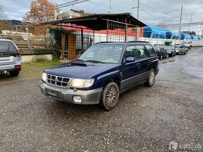 gebraucht Subaru Forester 2.0T.NightBlue A