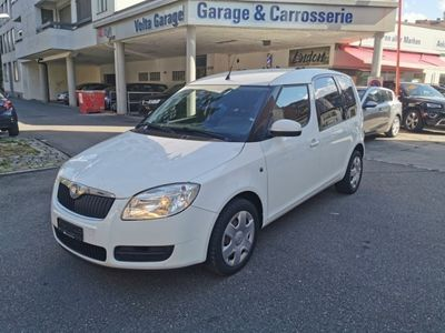 gebraucht Skoda Roomster 1.6 Scout Automatic