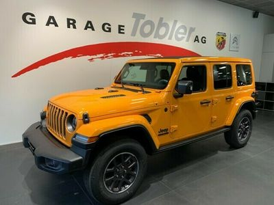gebraucht Jeep Wrangler 2.0 Unlimited 80TH Anniversary Automatic