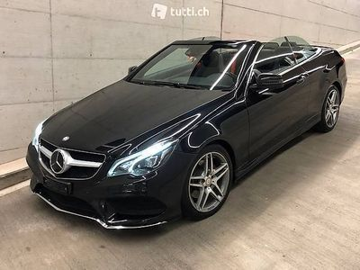 gebraucht Mercedes E350 BlueTEC 7G-Tronic (Cabriolet) AMG Paket