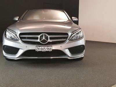 gebraucht Mercedes C400 AMG Line 4Matic 7G-Tronic