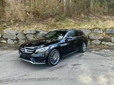 gebraucht Mercedes C250 C-Klasse C 250 BlueTEC AMG Line 4Matic 7G-Tronic C-KlasseBlueTEC AMG Line 4Matic 7G-Tronic