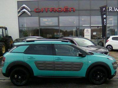gebraucht Citroën C4 Cactus C4 Cactus Shine ETG 1.6 e-Hdi 90 in Türkis / Blue
