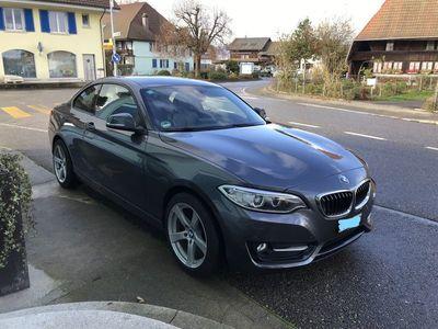 gebraucht BMW 220 2er i Sport Line Steptronic