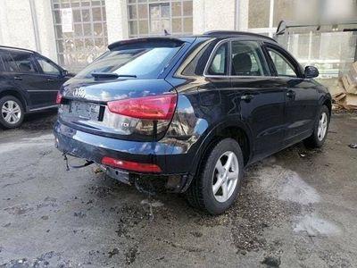 gebraucht Audi Q3 2.0 TDI Unfall