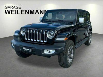 gebraucht Jeep Wrangler 2.0 Unlimited Sahara Automatic