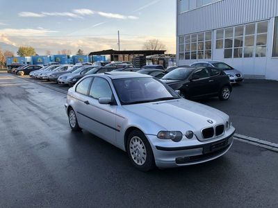 gebraucht BMW 316 Compact 3er Compact e46 ti JG 2001 AHK 1250kg Klima