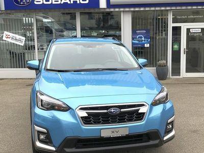 gebraucht Subaru XV 2.0i e-Boxer Swiss Plus Bl./Gr.