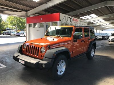 gebraucht Jeep Wrangler 2.8CRD Unlimited Rubicon Automatic