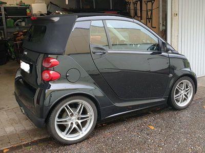 gebraucht Smart ForTwo Cabrio 451 mit Brabus Ausstattungsmerkmalen