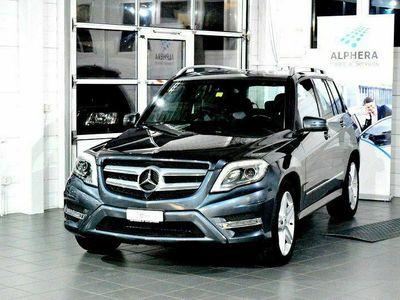 gebraucht Mercedes GLK350 4Matic 7G-Tronic / AMG-SPORTPAKET / CH FAHRZEUG / BENZINER 306PS 4X4 / 8XKOMPLETTRÄDER