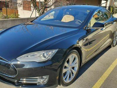 gebraucht Tesla Model S Model S 85 D, Premium inter. 4x4, Free Supercharging85 D, Premium inter. 4x4, Free Supercharging