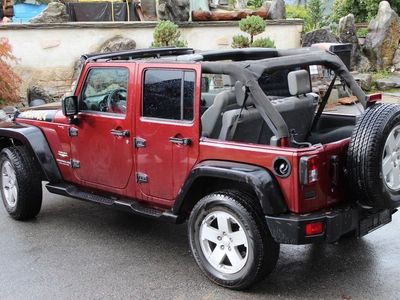 gebraucht Jeep Wrangler 3.8 Unlimited Sahara Automatic