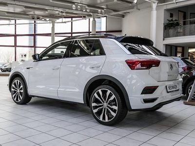 gebraucht VW T-Roc R-LINE SPORT 1.5TSI DSG ACTIVE INFO AHK AC