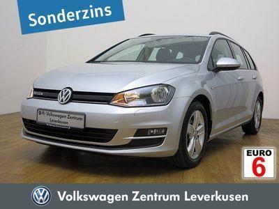 gebraucht VW Golf VII Variant 1.6 TDI KLIMAAUTOMATIK