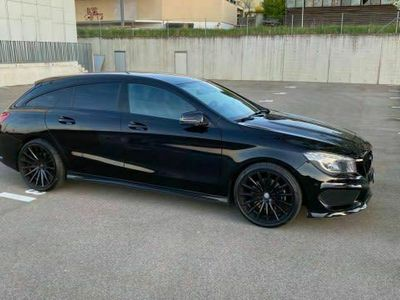 gebraucht Mercedes CLA250 Shooting Brake AMG Line 7G-DCT 4Matic