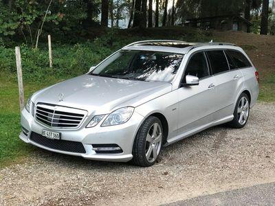 gebraucht Mercedes E500 CGI Avantgarde 4Matic 7G-Tronic