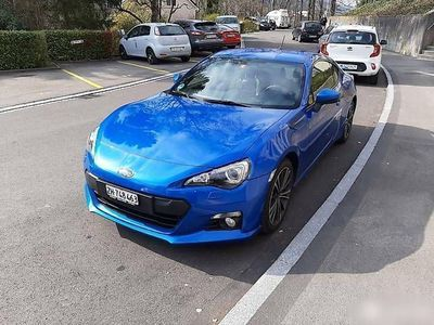 gebraucht Subaru BRZ blau