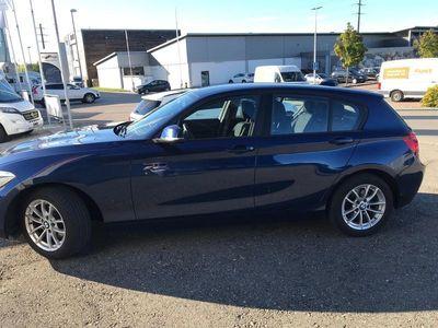 gebraucht BMW 116 1er i Sport Line Steptronic