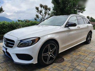 gebraucht Mercedes C250 C-Klasse Vendo Mercedes C-Klasse Kom. DieselBlue Tec AMG Line