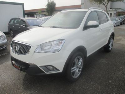 gebraucht Ssangyong Korando 2.0 e-XDI White Edition 4WD Automatic