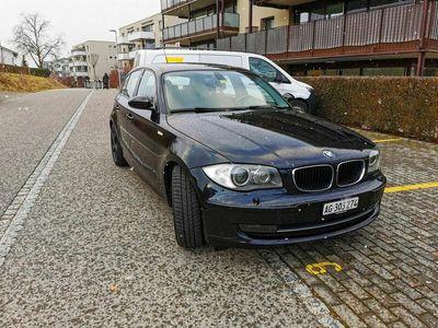 gebraucht BMW 120 1er BWM d Jg. 2009 Automat ab MFK Sehr guter Zustand