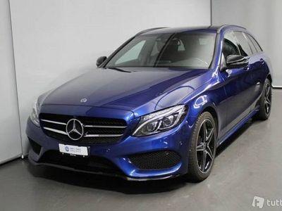 gebraucht Mercedes C250 C-Klassed Swiss Star AMG Line 4m