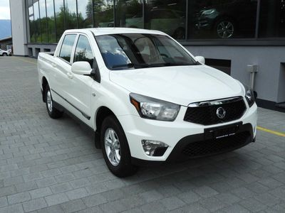 gebraucht Ssangyong Actyon Sports FR 2.0 Crystal 4WD