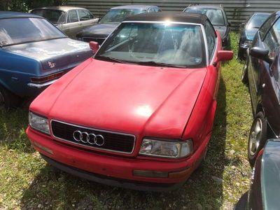 gebraucht Audi Cabriolet Cabrio 2.4i 1991 rot