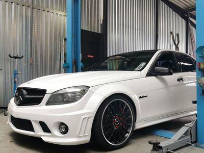 gebraucht Mercedes C63 AMG C-Klasse MercedesAMG W024 AMG Performance Paket
