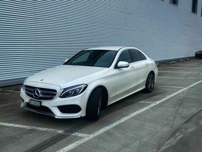 gebraucht Mercedes C200 C-KlasseAMG Line 7G-Tronic