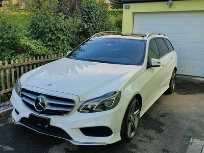 gebraucht Mercedes E350 BlueTEC Avantgarde 4Matic 7G-Tronic